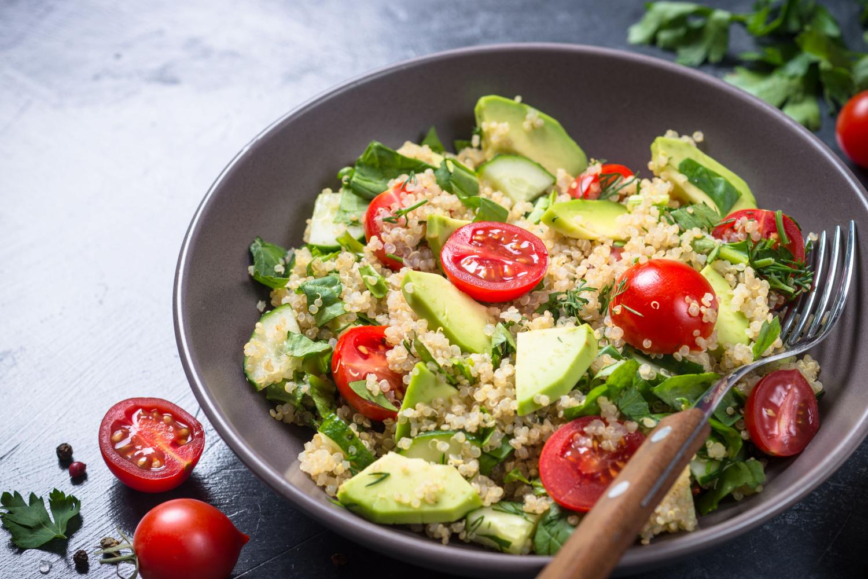 Quinoa morning bowl
