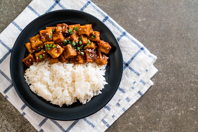 tofu rice