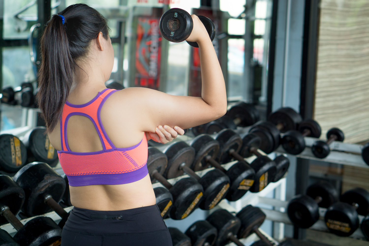 Flabby arms can be caused by a variety of reasons | Shutterstock