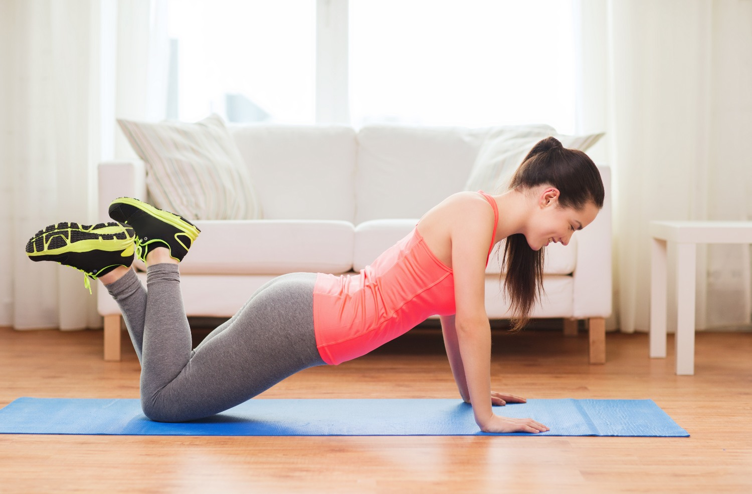 Assisted push-up | Shutterstock
