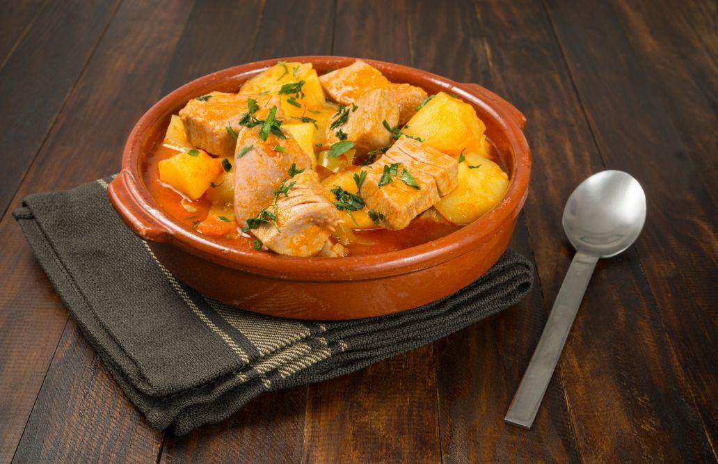 tuna and potatoes