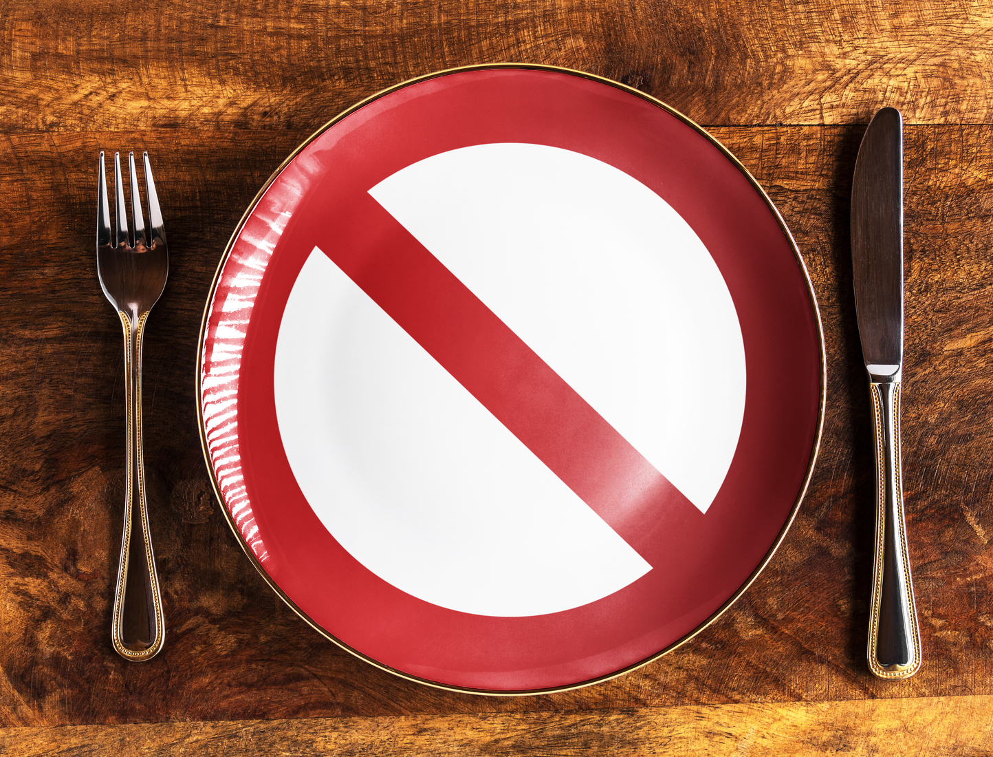 Food police don't have to accompany you at every meal | Shutterstock