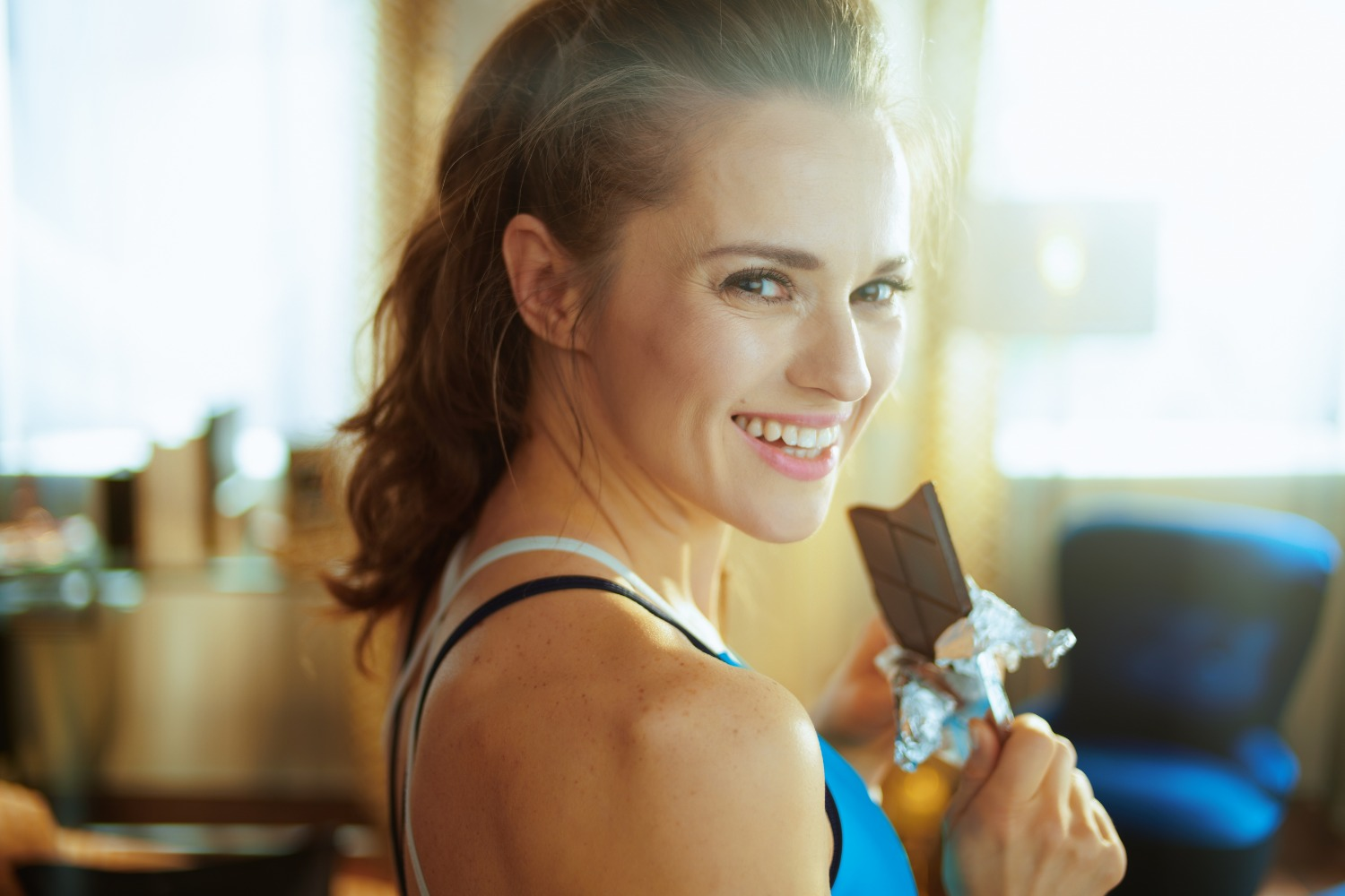 Chocolate helps with recovery after workouts   Shutterstock