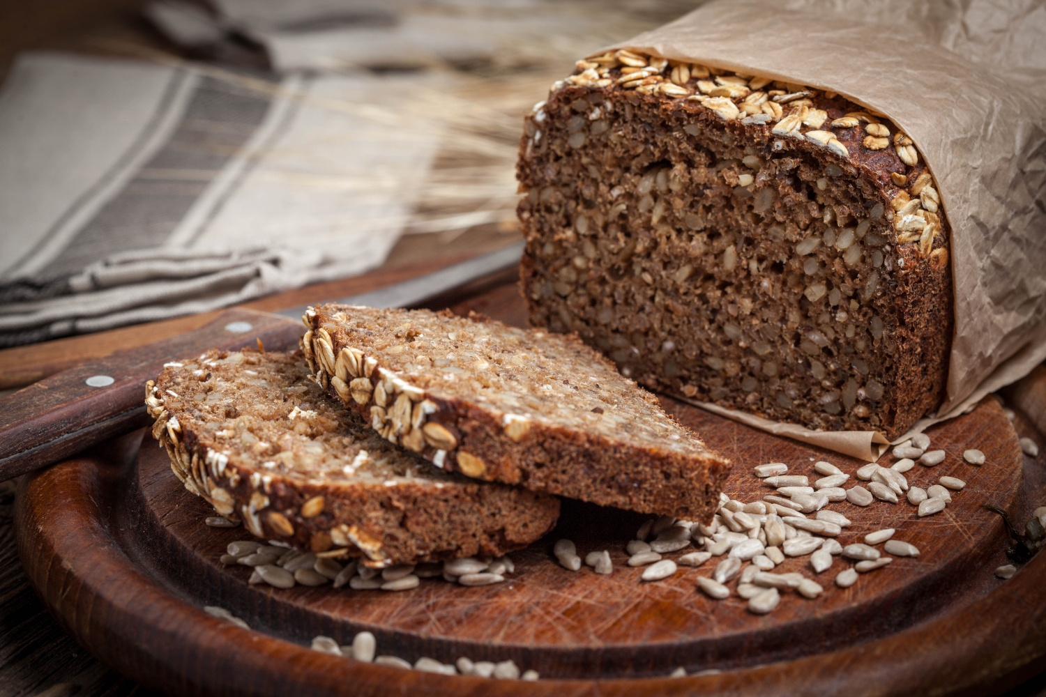 Sprouted whole grain bread satiates your hunger for longer | Shutterstock