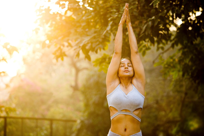 Arm Prayer Stretch | Shutterstock