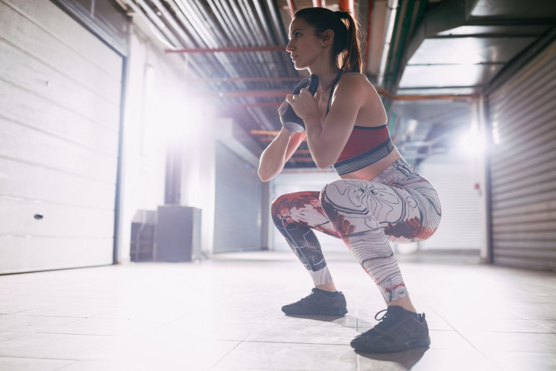 Goblet squats | Shutterstock