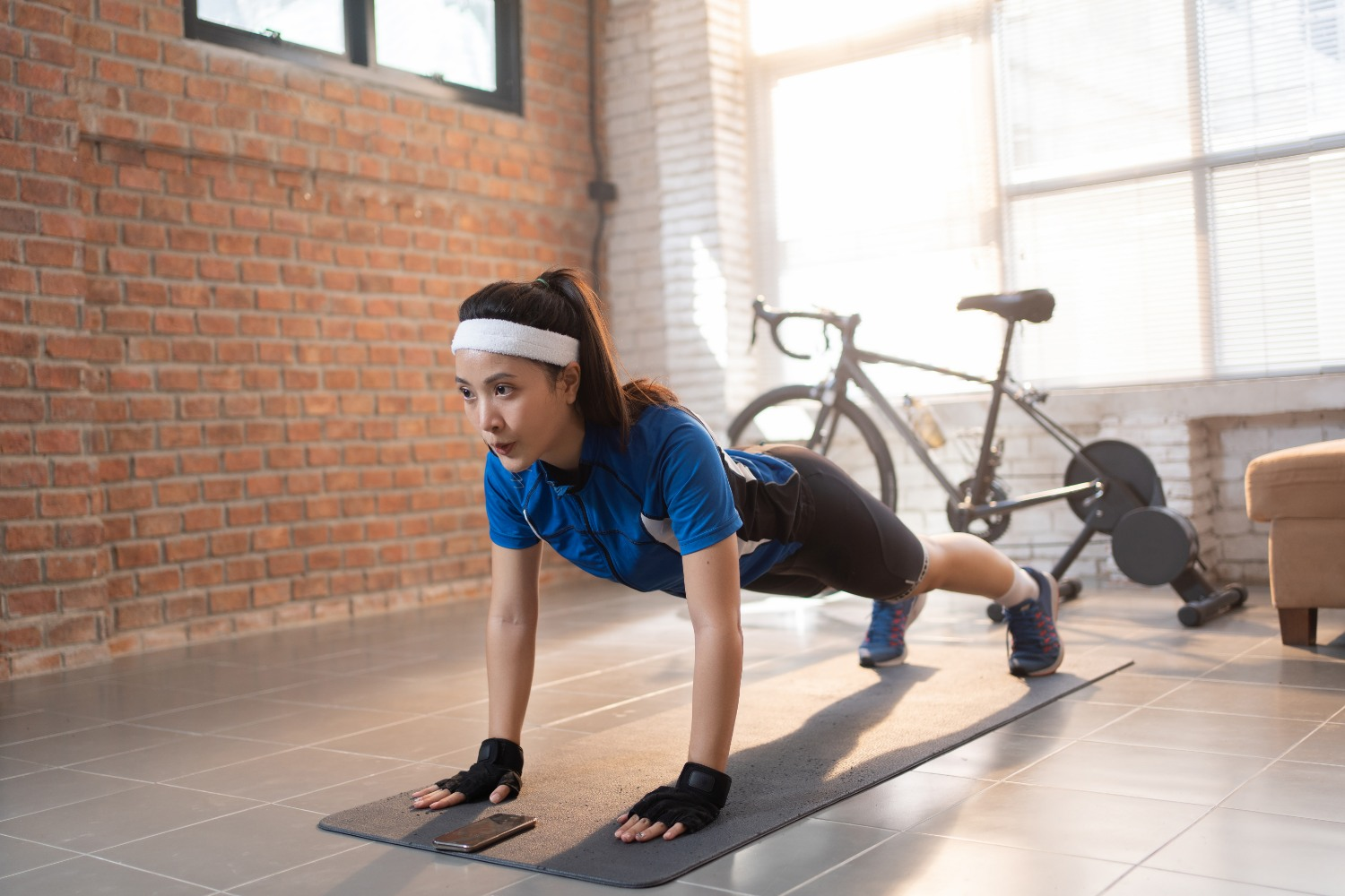 Push-up plank hold | Shutterstock