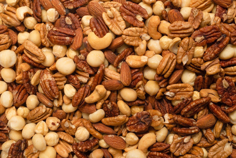 too many nuts